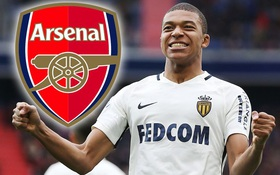 Arsenal ra giá 125 triệu bảng tranh Mbappe với Real Madrid