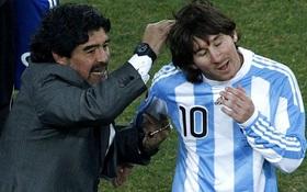 Không được Messi mời cưới, Maradona vẫn phản hồi rất văn minh