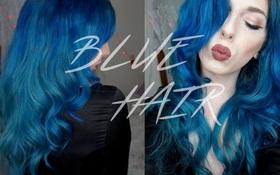 Tóc vàng, nâu, đỏ... quá nhàm rồi, nhưng sao ta không sở hữu 1 mái tóc xanh tự nhiên?
