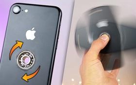 Tròn mắt với màn biến iPhone 7 thành con quay đắt nhất thế giới