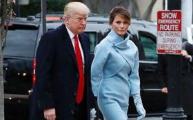 Trong lễ nhậm chức, bà Trump đã mặc đồ thể hiện đẳng cấp không hề tầm thường