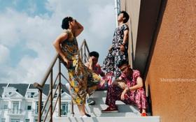 Diện đồ bộ của bà ngoại, 4 chàng trai Sài Gòn chụp ảnh chất như lookbook!