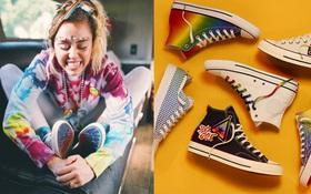 Miley Cyrus hợp tác với Converse ra mắt BST giày tôn vinh cộng đồng LGBT