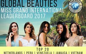 Lọt vào mắt xanh của các chuyên gia sắc đẹp, Huyền My được Global Beauties dự đoán trở thành Á hậu Miss Grand International 2017