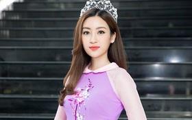 Nếu định mặc bộ áo dài này đi thi Miss World thì Đỗ Mỹ Linh sai quá rồi