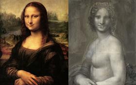 Giới khoa học sững sờ khi phát hiện nghi án bản vẽ nàng Mona Lisa... khỏa thân?