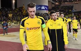 Hàng thủ mơ ngủ khiến Dortmund ôm hận trước Monaco