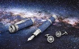 Chiếc bút bi nạm kim cương giá 34 tỷ đồng cầm sang tay thôi rồi
