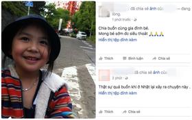 Cư dân mạng xót thương cho số phận bé gái người Việt tử vong đầy tức tưởi ở Nhật Bản