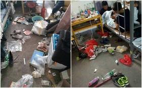 Những căn phòng ký túc bẩn còn hơn cả bãi rác của sinh viên Trung Quốc khiến nhiều người hoảng hồn