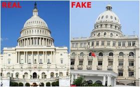 """Trường học Trung Quốc xây nhái Tòa nhà Quốc hội Mỹ, sinh viên ngỡ ngàng tưởng vừa được """"xuyên không"""""""