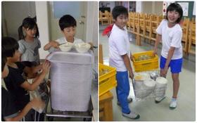 Một bữa trưa đạm bạc của trẻ em Nhật sẽ khiến nhiều người phải cảm thấy hổ thẹn, và đây là lý do