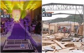 Gần đến ngày cưới, cặp đôi khốn khổ vì phòng tiệc 252 triệu đồng bất ngờ bị phá dỡ
