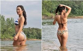 Ai mà tin được người phụ nữ sở hữu thân hình khỏe khoắn với những đường cong quyến rũ này đã ngoài 50 tuổi