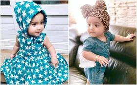 """Vẻ xinh xắn, dễ thương của thiên thần lai 1 tuổi """"đốn tim"""" cư dân mạng Thái Lan"""