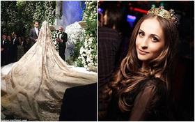 Cả Hollywood choáng ngợp trước đám cưới xa hoa của tiểu thư nhà tài phiệt Nga