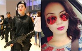 Nữ cảnh sát xinh đẹp tại SEA Games 29 gây sốt mạng xã hội châu Á