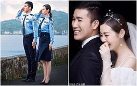 """Cặp đôi cảnh sát """"bước ra từ truyện ngôn tình"""", gần thì ít mà xa nhau thì nhiều trở thành hiện tượng mạng xã hội"""