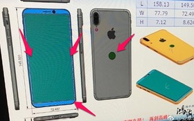 iPhone 8 tiếp tục lộ thiết kế khiến fan Apple nửa buồn nửa vui