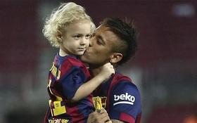 Neymar gửi con trai theo học lò đào tạo của Barca