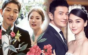 Đám cưới thế kỷ Song - Song liệu có kém cạnh so với hôn lễ đẳng cấp của Angela Baby - Huỳnh Hiểu Minh?