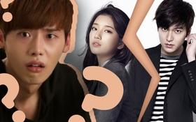 """Quá khó để Lee Jong Suk trở thành """"kẻ cướp"""" Suzy từ vòng tay Lee Min Ho, bởi họ đóng phim với nhau vô duyên thế này cơ mà!"""