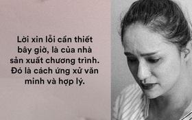 """Chuyện Hương Giang """"hỗn"""", nghệ sĩ trở thành con rối và trách nhiệm từ nhà sản xuất!"""