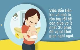10 điều chồng cần làm để giúp vợ tránh bị trầm cảm sau sinh