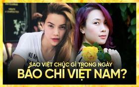 Mỹ Tâm, Hà Hồ cùng dàn sao Việt chúc gì trong ngày trong ngày Báo chí Cách mạng Việt Nam