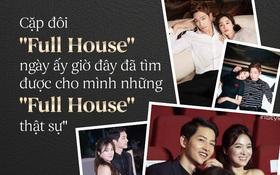 """Cặp đôi """"Full House"""" ngày ấy bây giờ: Sự trùng hợp khó tin tạo nên hai cặp đôi quyền lực nhất Kbiz!"""