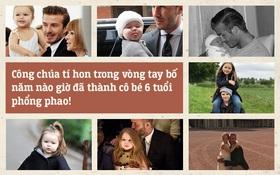 Harper Beckham: Công chúa tí hon trong vòng tay bố khiến cả thế giới phát cuồng giờ đã thành cô bé 6 tuổi phổng phao!