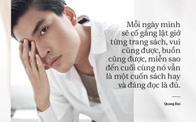 Quang Đại - Đấy là chàng trai trong mơ của mọi cô gái, không chỉ bởi gương mặt đẹp và chiều cao 1m88