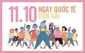 Hôm nay là ngày Quốc tế Con gái!