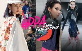 Nếu Seoul Fashion Week mùa này là một cuộc đua, có lẽ Phí Phương Anh sẽ luôn về nhất