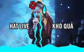 Ối giời ơi, Chi Pu hát live thấy thương quá...