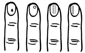 Những dấu vết kỳ lạ trên móng tay báo hiệu nhiều điều về tương lai của con người