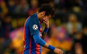 Neymar khóc như mưa, có thể rời Barca đến Man Utd