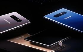 Samsung Galaxy Note8 sẽ lên kệ từ ngày 15/9 tới, giá bán vẫn chưa tiết lộ