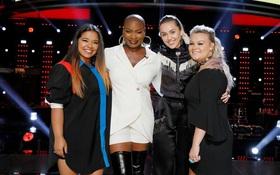 The Voice Mỹ: Tuyển nam vào cho vui thôi chứ Miley Cyrus lại đưa team về 100% nữ rồi!