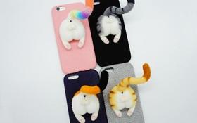 Cận cảnh bộ ốp lưng mông động vật cho iPhone đang gây sốt