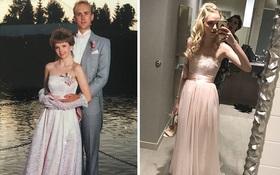 """Diện váy của mẹ từ chục năm trước nhưng 17 cô nàng này trông vẫn long lanh như """"hot girl"""""""