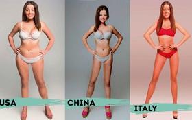 Nếu bạn còn nghĩ mình béo thì cứ tự tin lên, tiêu chuẩn cái đẹp chẳng ở đâu giống nhau cả