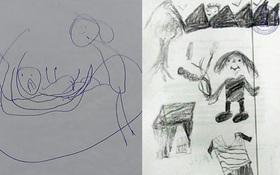 Đằng sau những bức vẽ nguệch ngoạc của trẻ thơ là sự thật khủng khiếp mà cha mẹ không ngờ tới