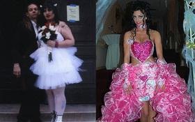 Những bộ váy cưới khiến khách đi ăn tiệc cười chết ngất: Độc là được, xấu đẹp miễn bàn