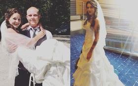 Điều gì hấp dẫn ở chiếc váy cưới cũ này mà 12 người phụ nữ xếp hàng chờ tới lượt mặc đến tận năm sau?