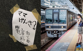 Vì lời khẩn cầu động lòng của 2 đứa trẻ muốn tìm mẹ, nhà ga Nhật Bản đã phá bỏ cả quy định ngặt nghèo