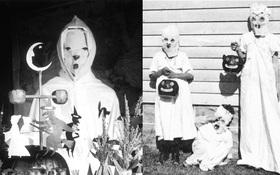 Những bộ hóa trang ám ảnh đến rùng rợn: Halloween ngày xưa kinh dị hơn giờ gấp nhiều lần