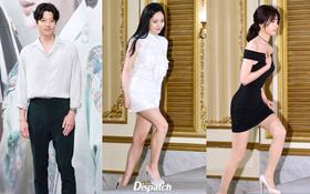 """""""Nữ hoàng dao kéo"""" Park Min Young đọ sắc cùng mỹ nhân vô danh, Lee Dong Gun tiều tụy sau khi làm bố"""