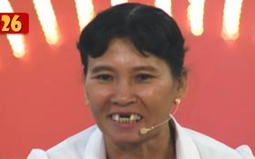 Đang diễn bị rớt răng, cô nông dân khiến Trấn Thành bật cười phấn khích