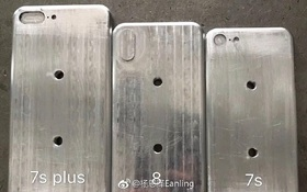 Thiết kế iPhone 7s, 7s Plus và iPhone 8 lộ diện trong cùng một hình ảnh